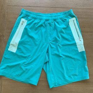 Lululemon shorts. Teal. XXL.